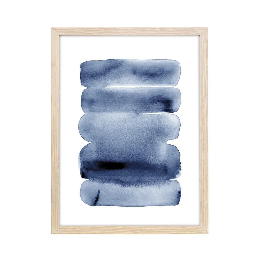 Quadro Decorativo em Canvas 60x43 cm Abstrato - Jolie