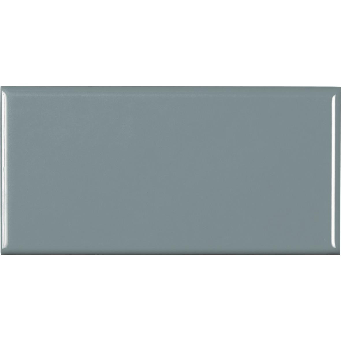 Revestimento Brilhante Paris Lilac Gris Tipo A 10x20 cm 037 m Cinza claro - Portobello