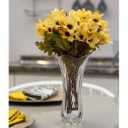 Vaso Decorativo de Vidro Redondo Transparente 6879 - Coliseu
