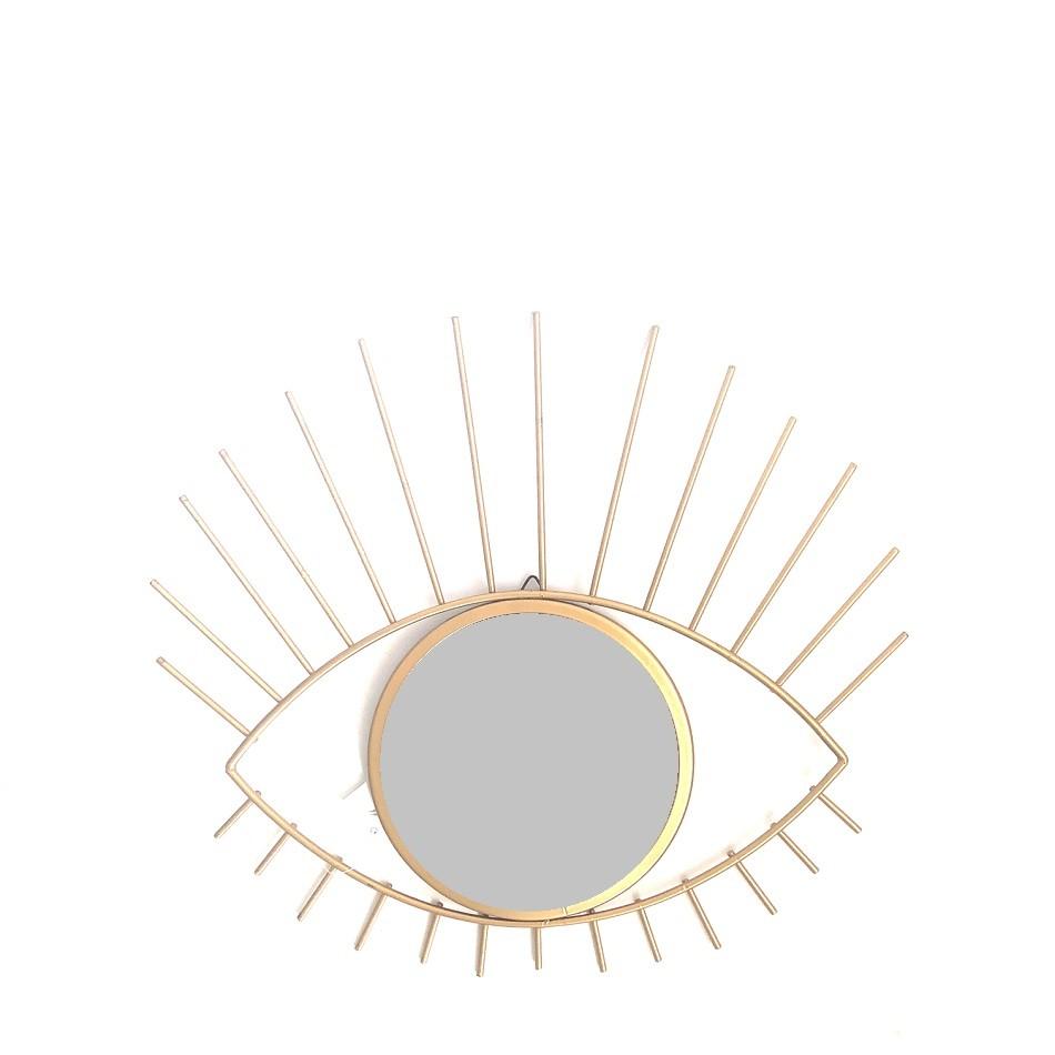 Espelho com Moldura 30x285 cm Olho Ouro 182919 - Bras Continental