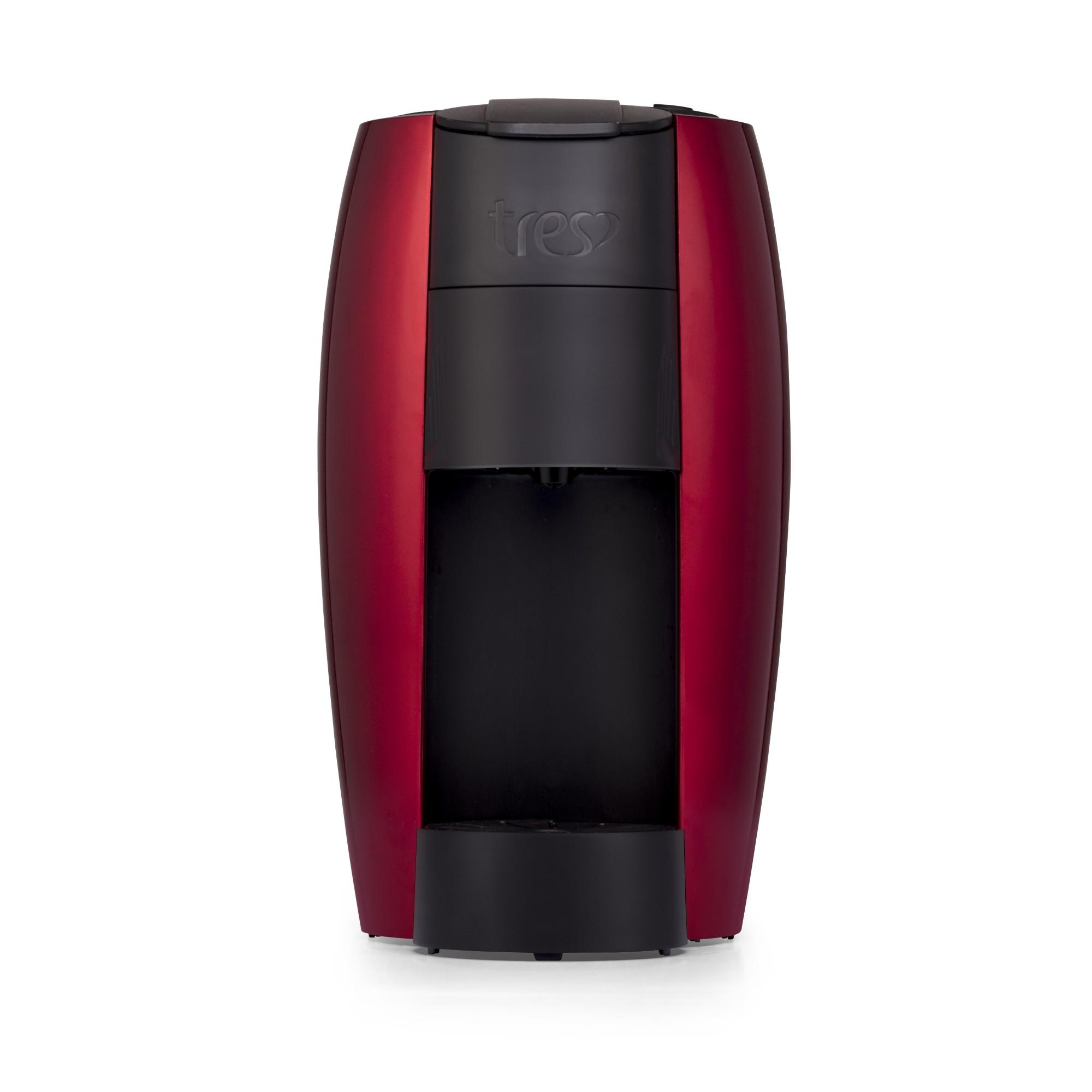 Cafeteira Eletrica Expresso Tres Lov ET0465 - 220V - Vermelha