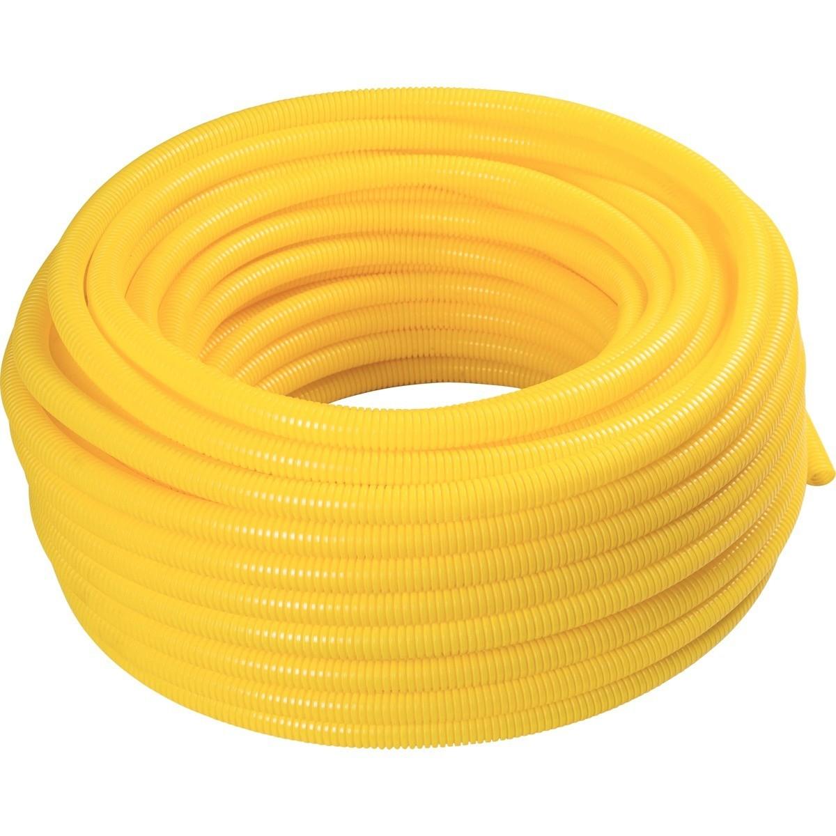 Eletroduto Flexivel Corrugado PVC DN 32 mm 1 x 25m - Tramontina