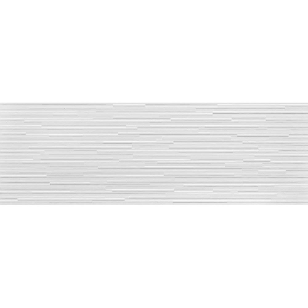 Revestimento Tipo A 30x90cm 108 m Acetinado Risca Branco - Incepa