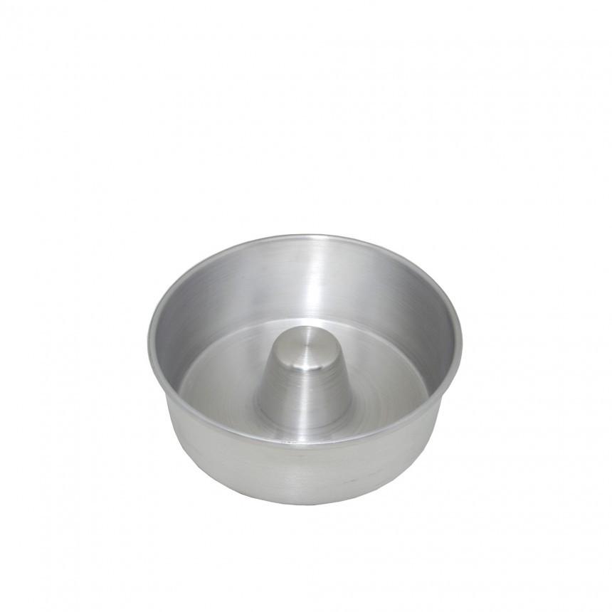Forma de Aluminio Polida para Bolo 24cm - Aluminio Jauli