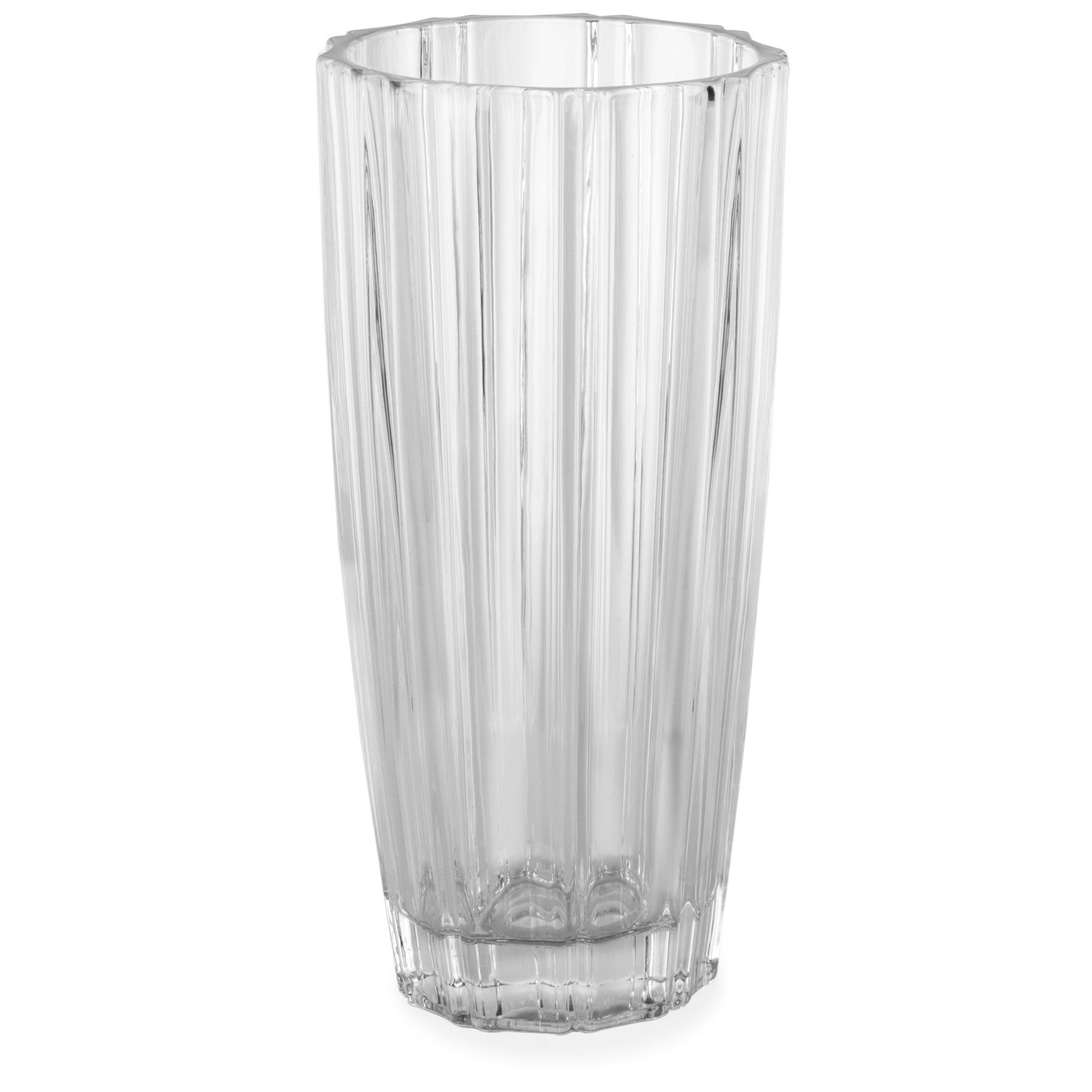 Vaso Decorativo Vidro Conico Siena Incolor 6400 - Mimo