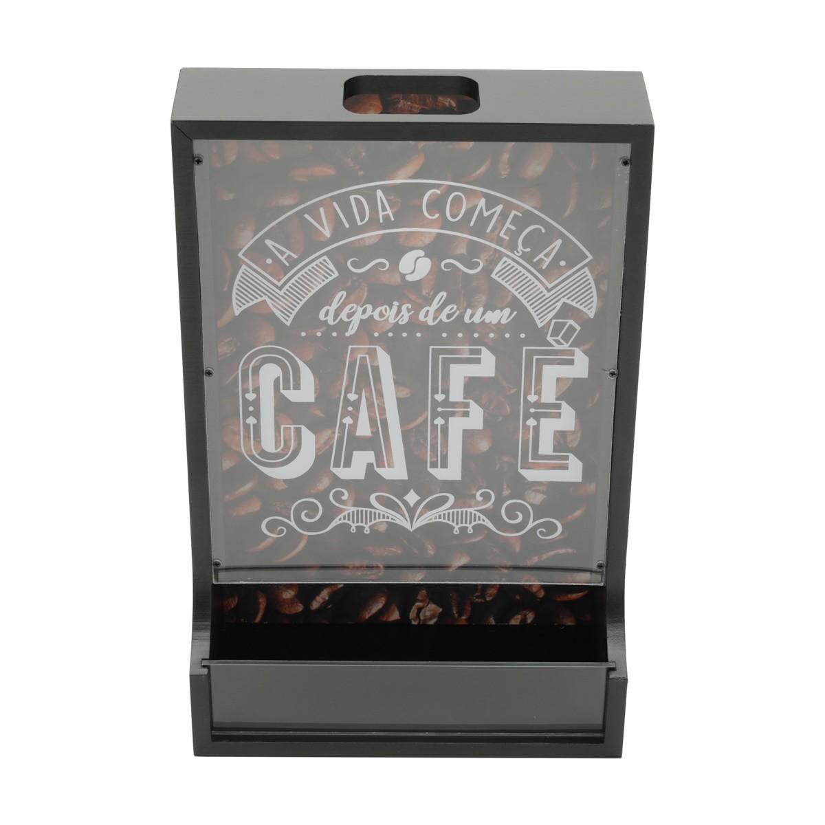Porta-capsula para Cafe de Madeira 42915 - Urban