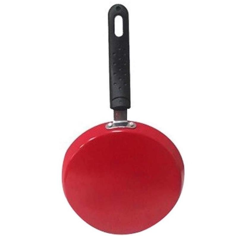 Frigideira Rasa Antiaderente 20cm Vermelho - Casa Ambiente