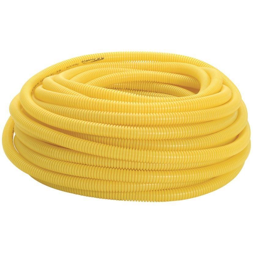 Eletroduto Flexivel Corrugado PVC DN 25 mm 34 x 50m - Amanco