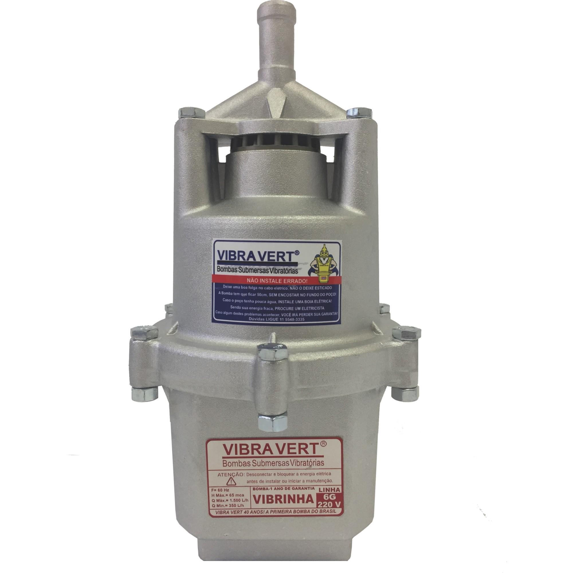 Bomba Submersa Vibratoria Vibrinha 220V - Vibravert