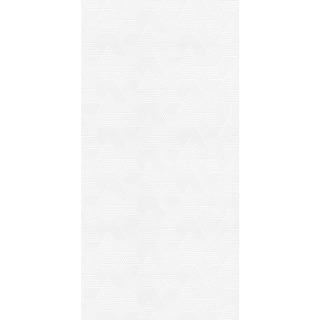 Revestimento Escaleno Gloss Brilhante 45x90cm Branco - Eliane