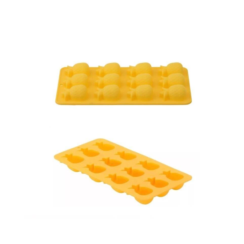 Forma Gelo Plastico Abacaxi Utsi069