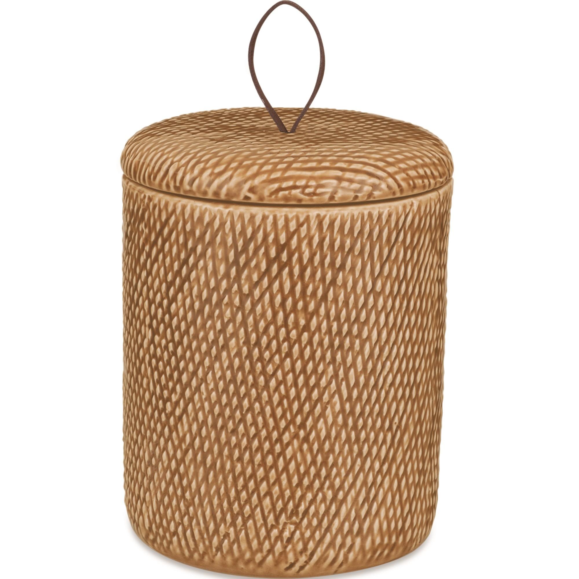 Pote de Ceramica Redondo Bege 08671 - Mart