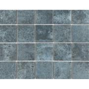 Revestimento Oxy Blue Mesh Acetinado 7,5x7,5cm 1,59 m²  Azul - Eliane