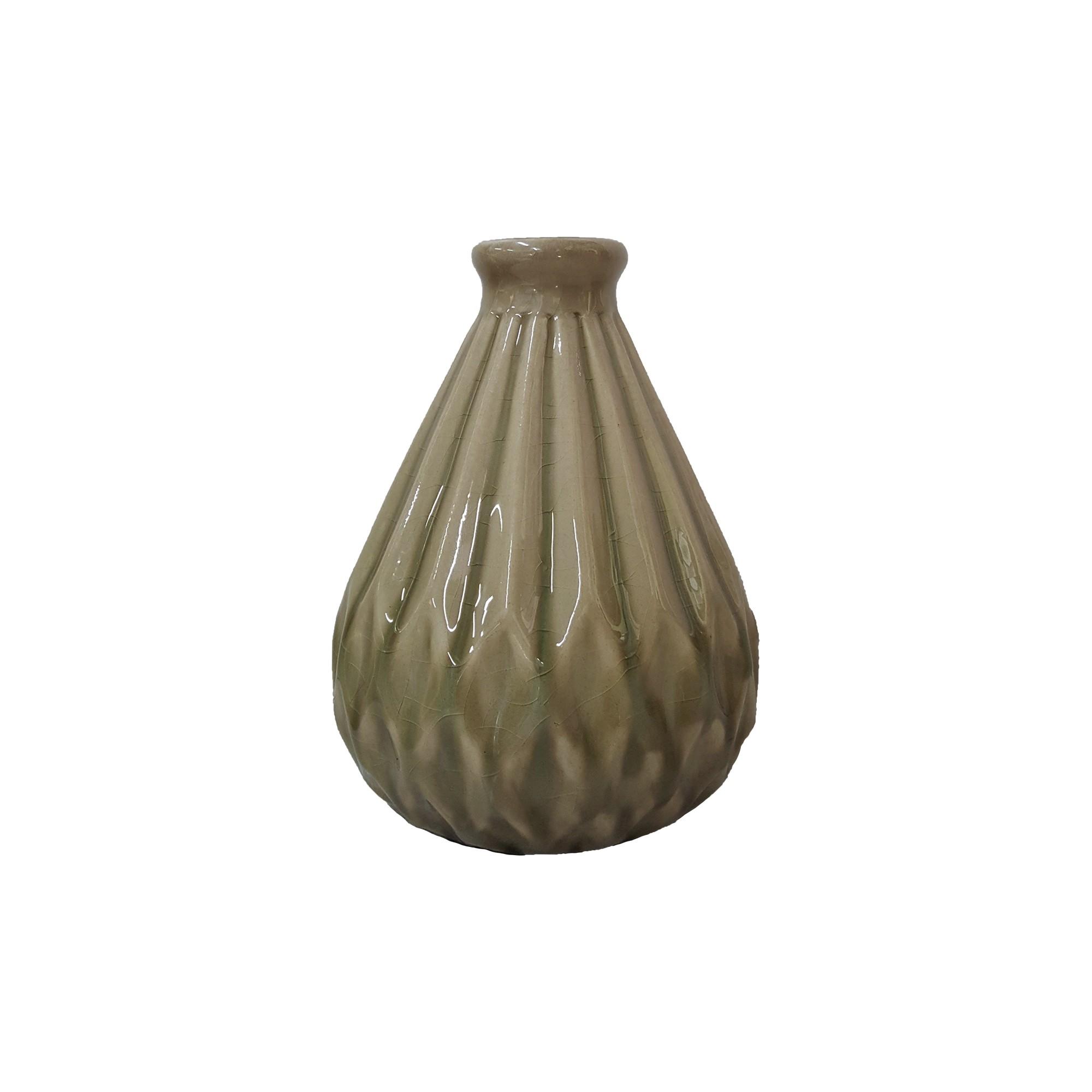 Vaso Decorativo Ceramica Redondo Fendi 4778950 - Buzzios
