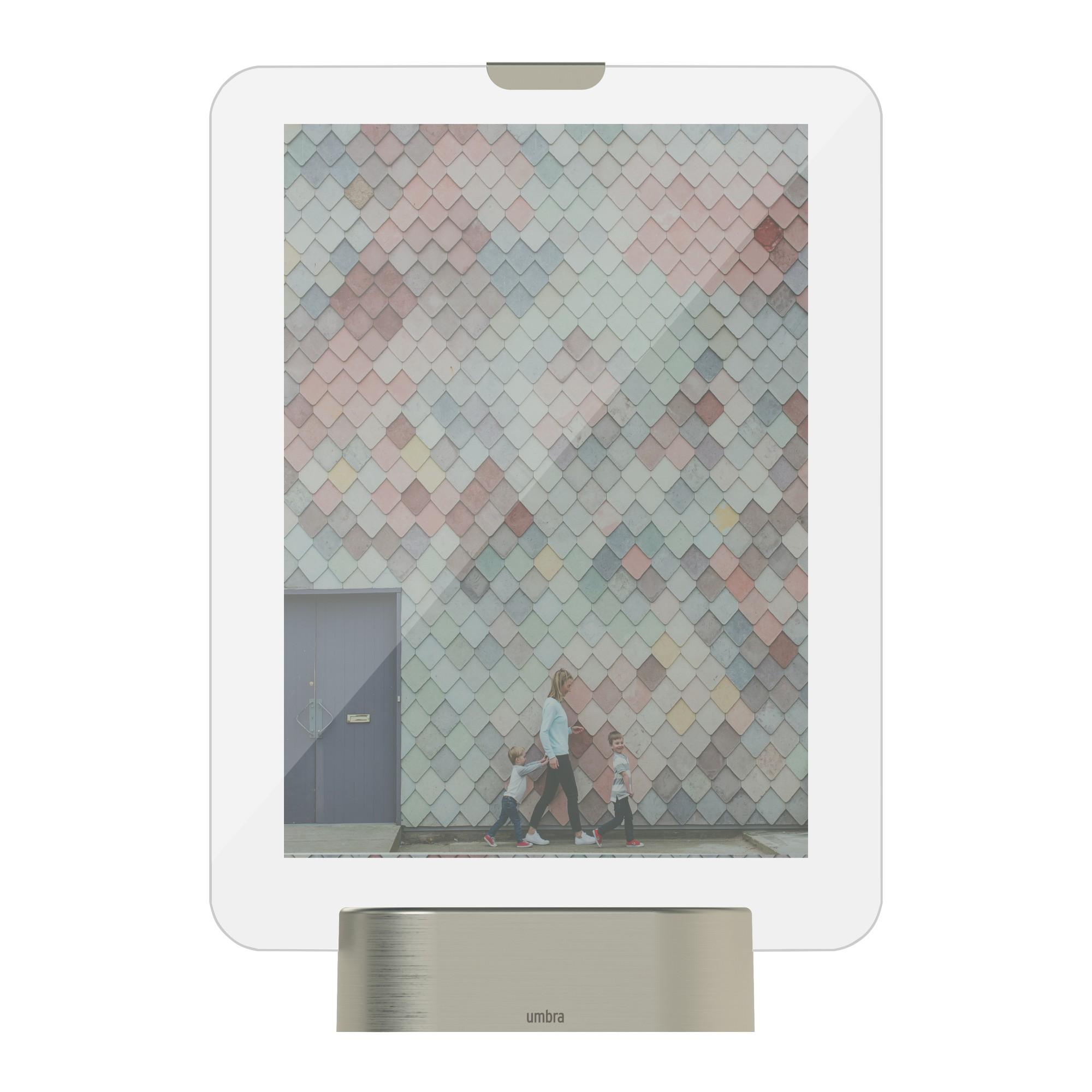 Porta Retrato Multifotos 13x18 cm Cinza - Umbra