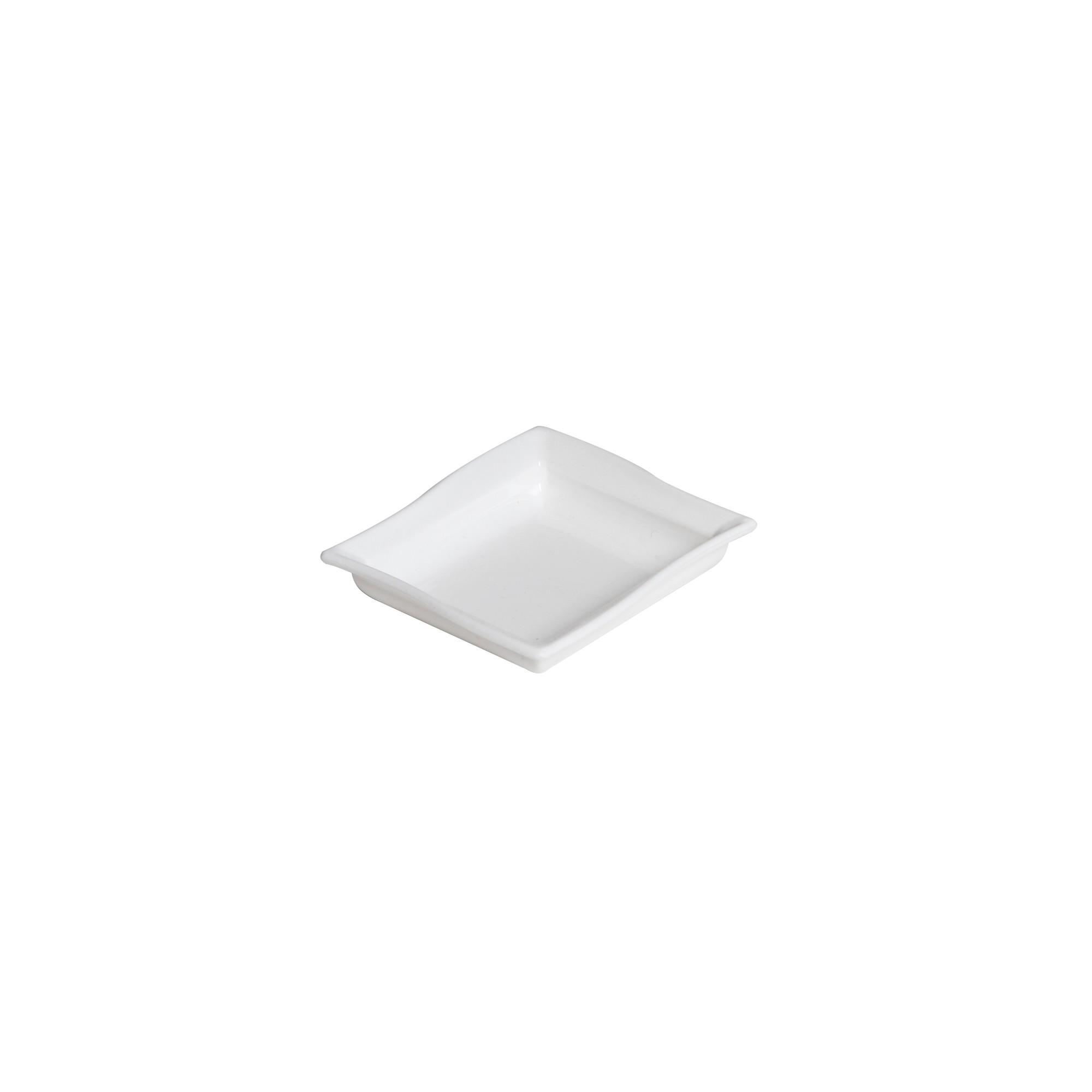 Molheira de Plastico Quadrada 60ml Branca - Vem Plast