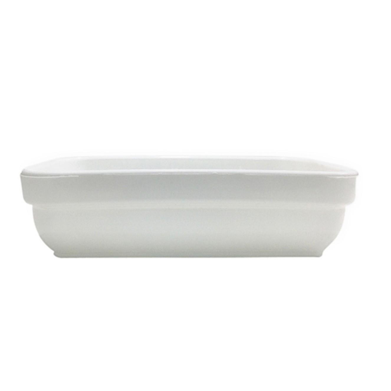 Travessa de Plastico Cheff 14x9cm - 619 - Vem Plast