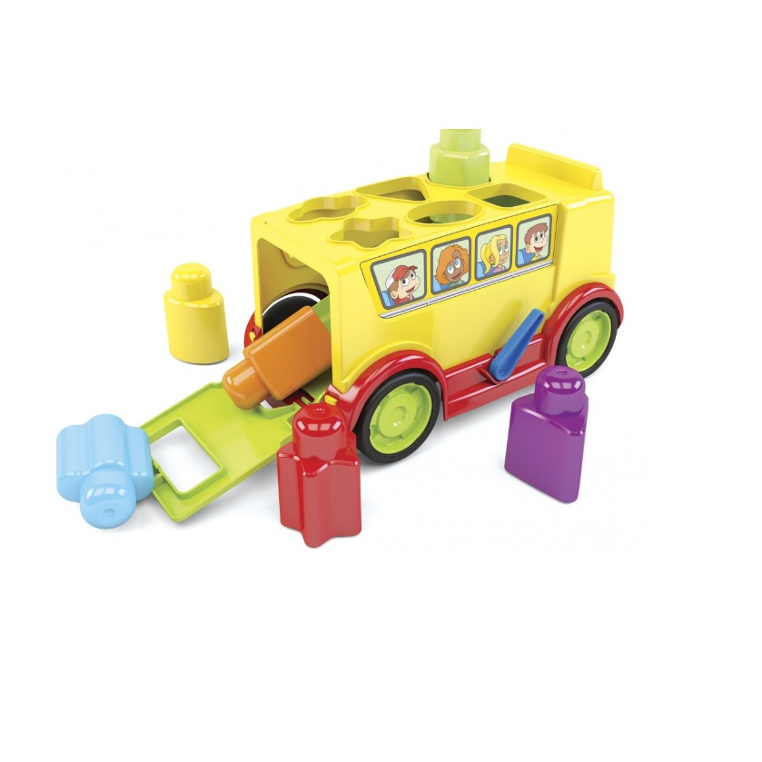 Brinquedo Educativo Onibus Escolar Didatico - Dismat