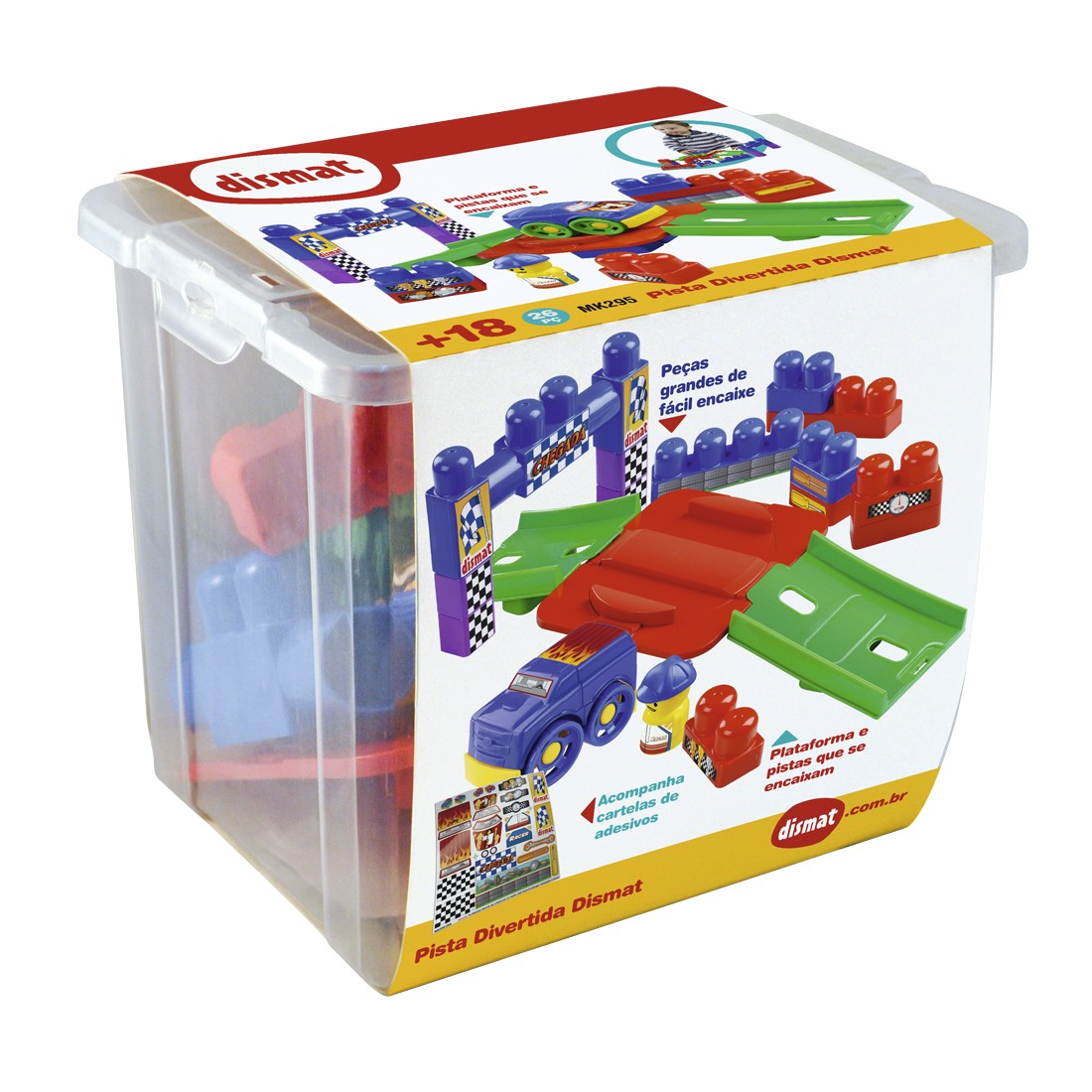 Brinquedo Educativo Super Pista Divertida - Dismat