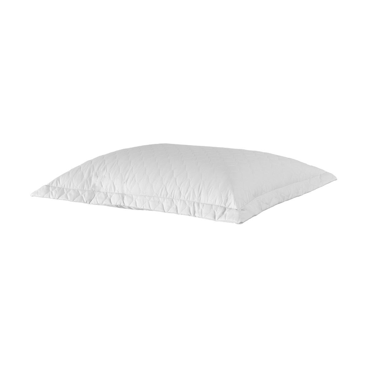 Porta Travesseiro Percal 200 Fios Branco 50 x 70 cm - Juma