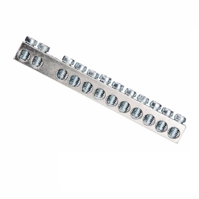 Kit Barramento NeutroTerra para 12 Disjuntores 80A 2 pecas - Cemar