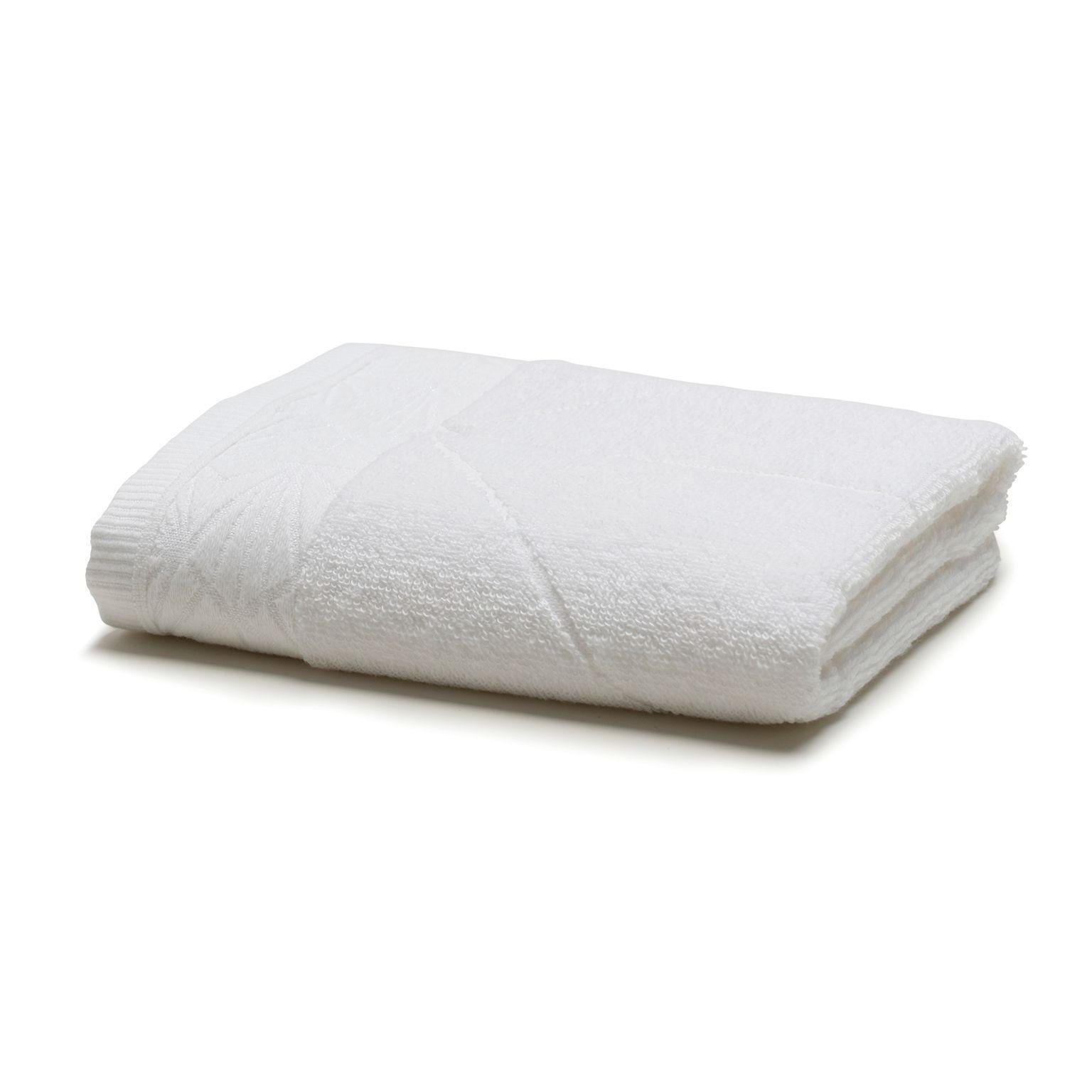 Toalha de Banho Total Mix 100 Algodao 70 x 135 cm Branca - Artex
