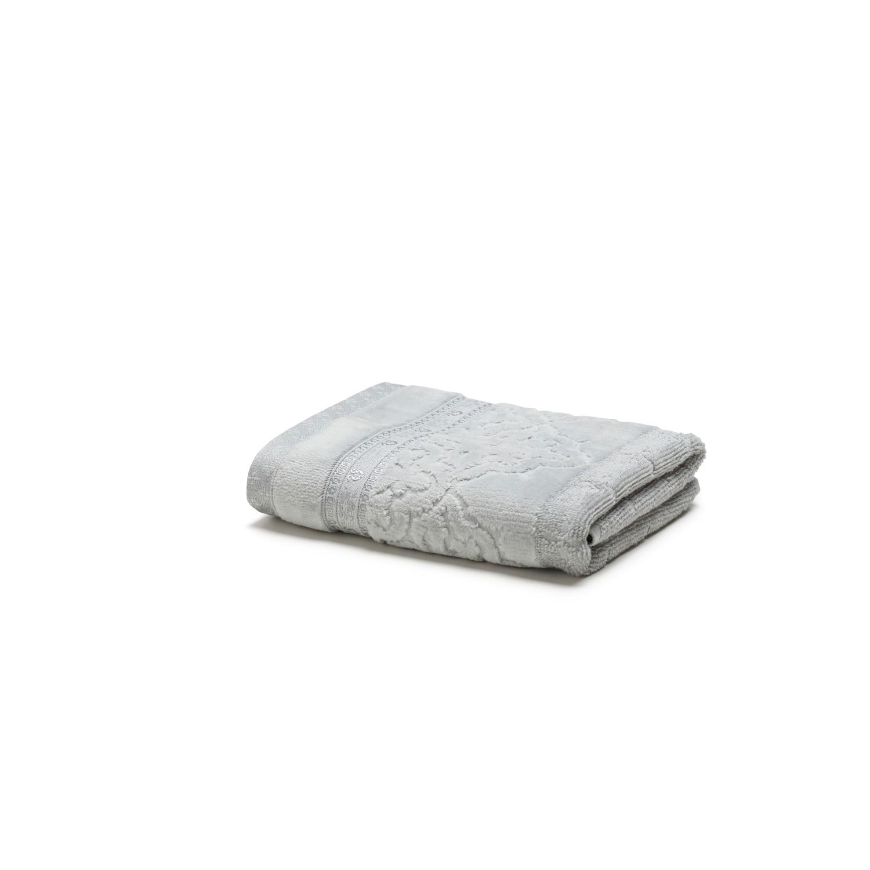 Toalha de Rosto Le Bain Madras 100 Algodao 48 x 80 cm Cinza - Artex