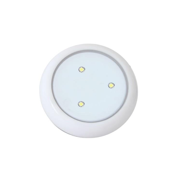 Luminaria LED de Piscina Policarbonato 12V 5W 125mm - Iluctron