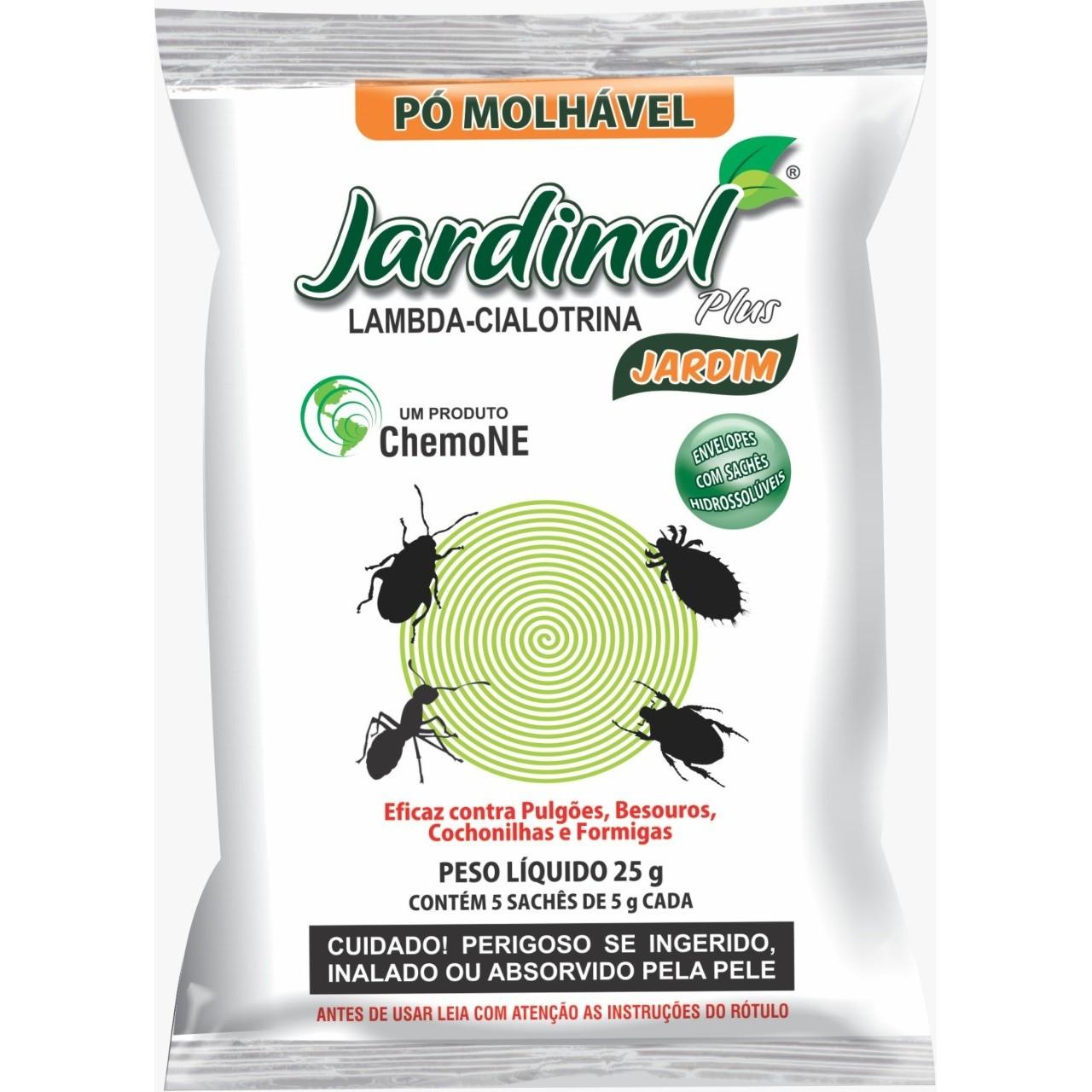 Inseticida em Po Jardinol 25g - Chemone