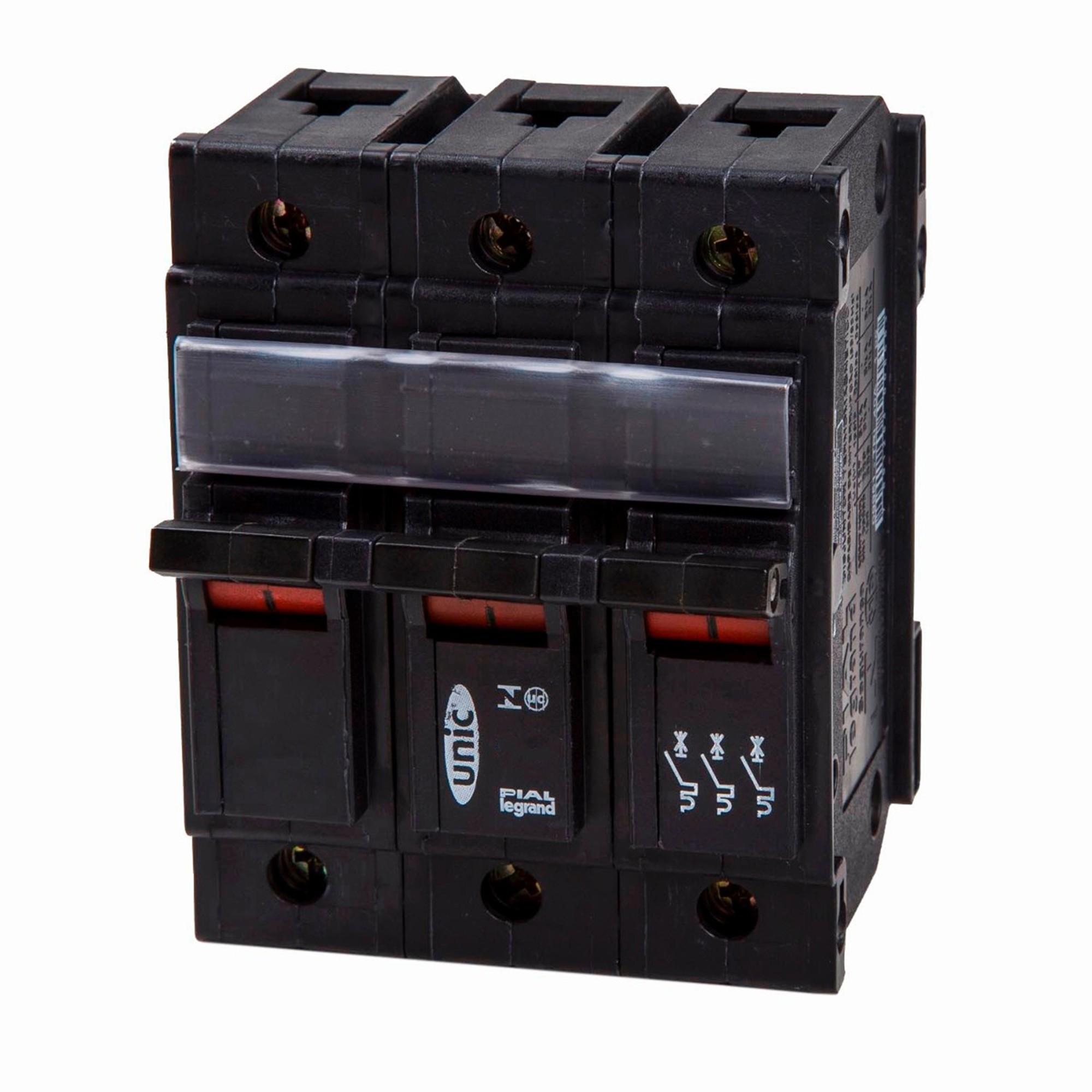 Disjuntor NEMA Tripolar 127220 VCA 10A Tipo C - Legrand 09981