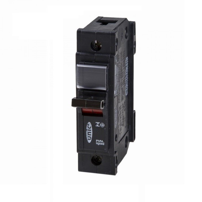 Disjuntor NEMA Monopolar 127220 VCA 25A Tipo C - Legrand 09964