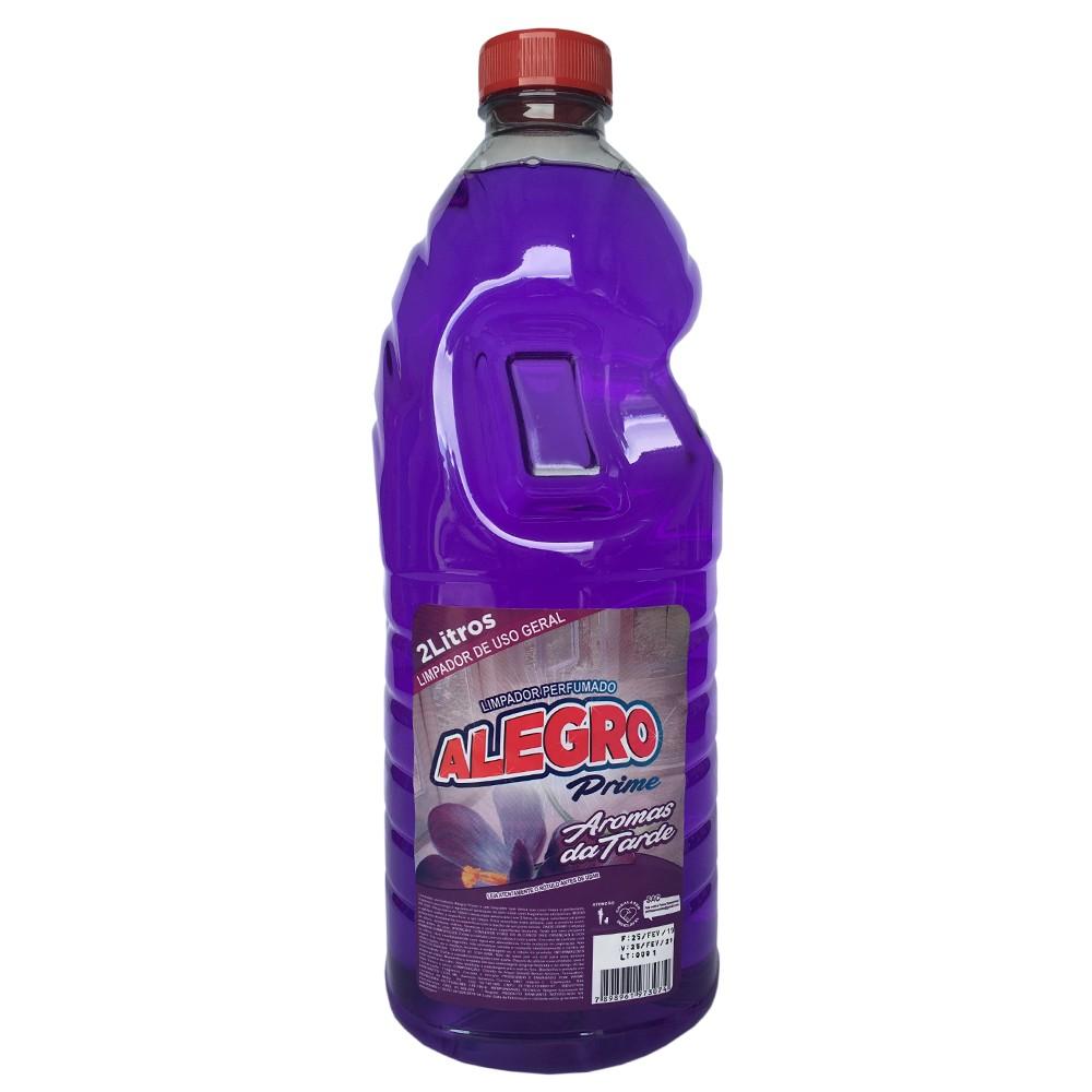 Limpador Multiuso Perfumado 2L - Alegro