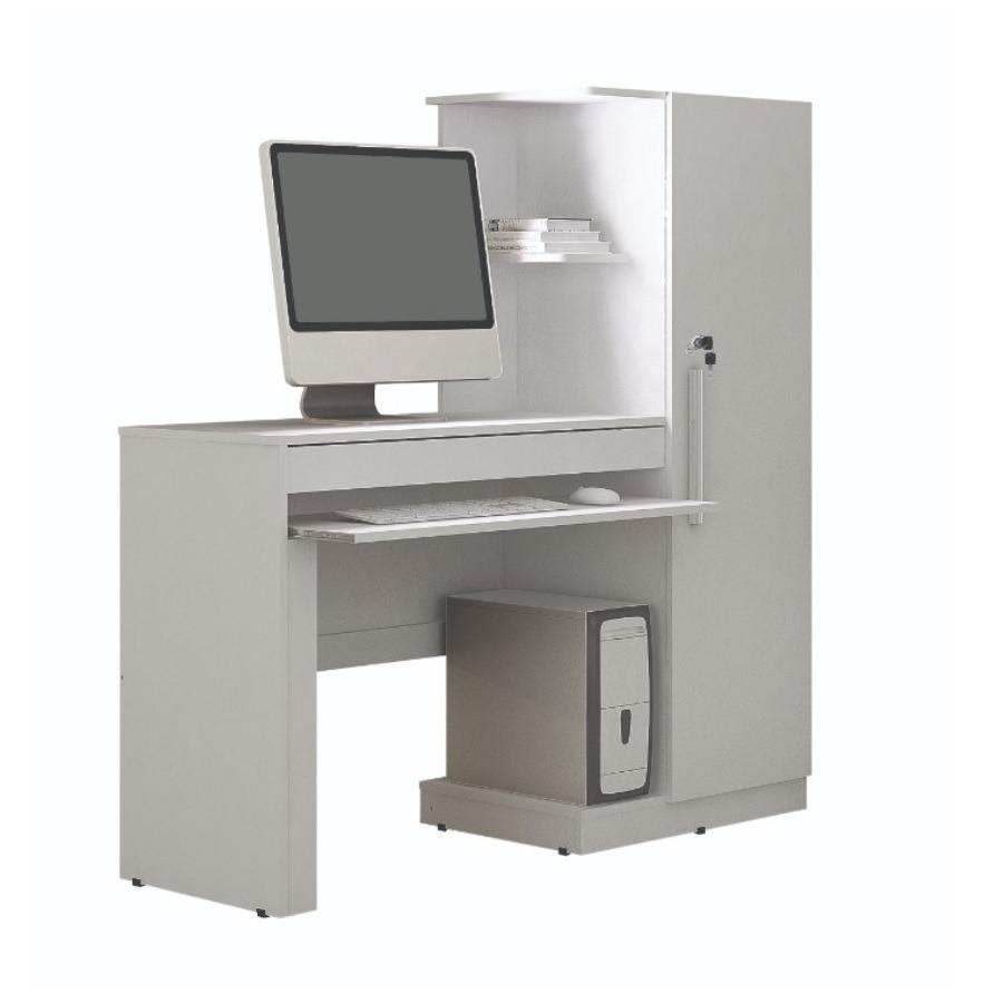 Mesa para Computador MDP Branco Fosco 137 cm - Valdemoveis