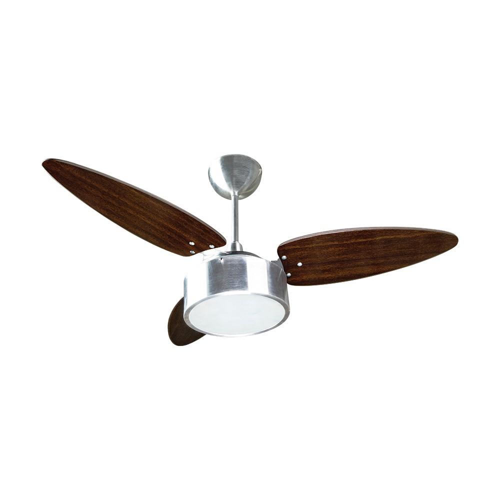 Ventilador de Teto 3 Pas Fenix 244 220V - 2 Lampadas 3 Velocidades - Ventisol
