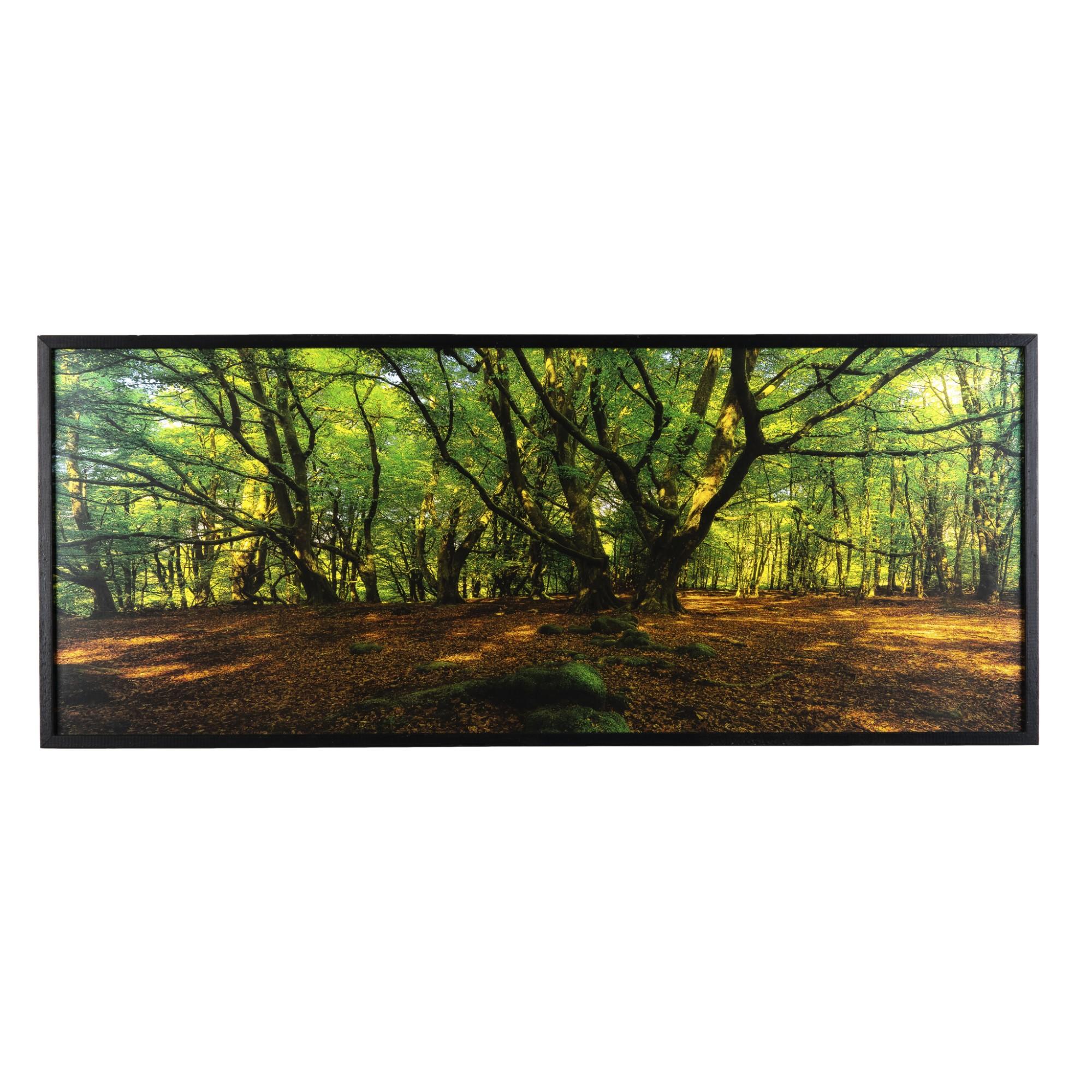 Quadro Decorativo 40x100 cm Paisagem 1043 - Art Frame