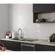Revestimento Cerâmico Brilhante 33x50cm Cinza claro - Incenor