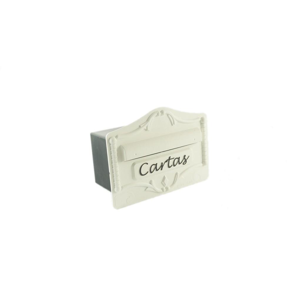 Porta Carta de Plastico 19x26x16 cm Branco - Pintsilk