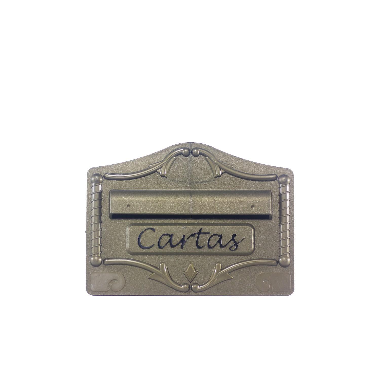 Porta Carta de Plastico 19x26x16 cm Ouro - Pintsilk