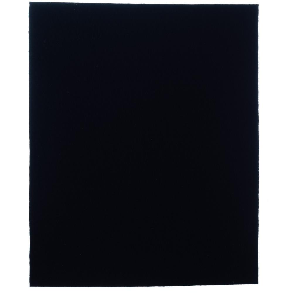 Manta de Feltro Autoadesivo Retangular Preto 20x24cm - Engedom