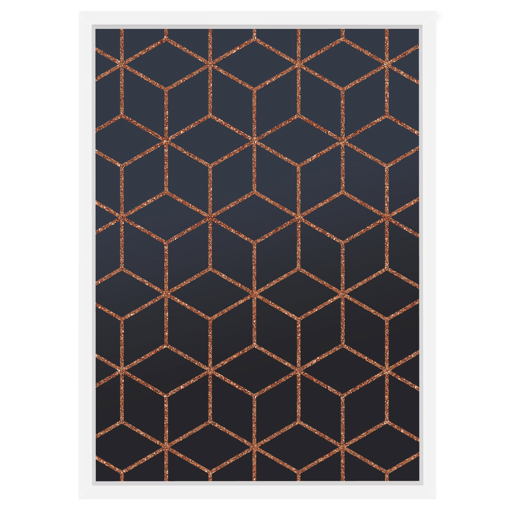 Quadro Decorativo 53x73 cm Geometrico 540994 - Euroquadros
