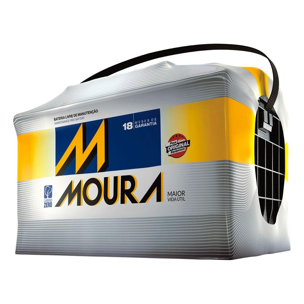 Bateria Automotiva para Veiculo Pesado 12V 100Ah Polo Positivo Esquerdo MP100HE - Moura