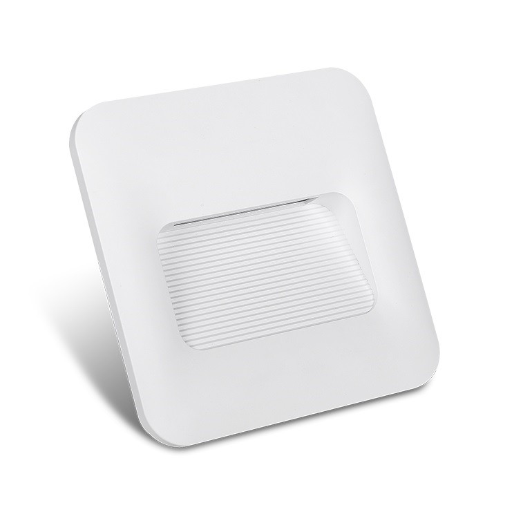 Balizador LED de Embutir 2W Bivolt BL04B - Nitrolux