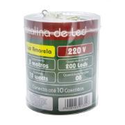Pisca Pisca de Led Cascata 3m Amarelo 220V - Ecoline