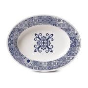 Travessa de Porcelana Oval Rasa 30x23cm - 021092 - Oxford