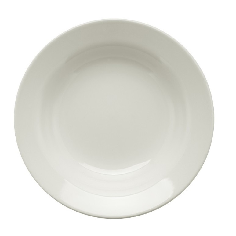 Prato Fundo Redondo em Ceramica Comercial 22cm - 005867 - Oxford