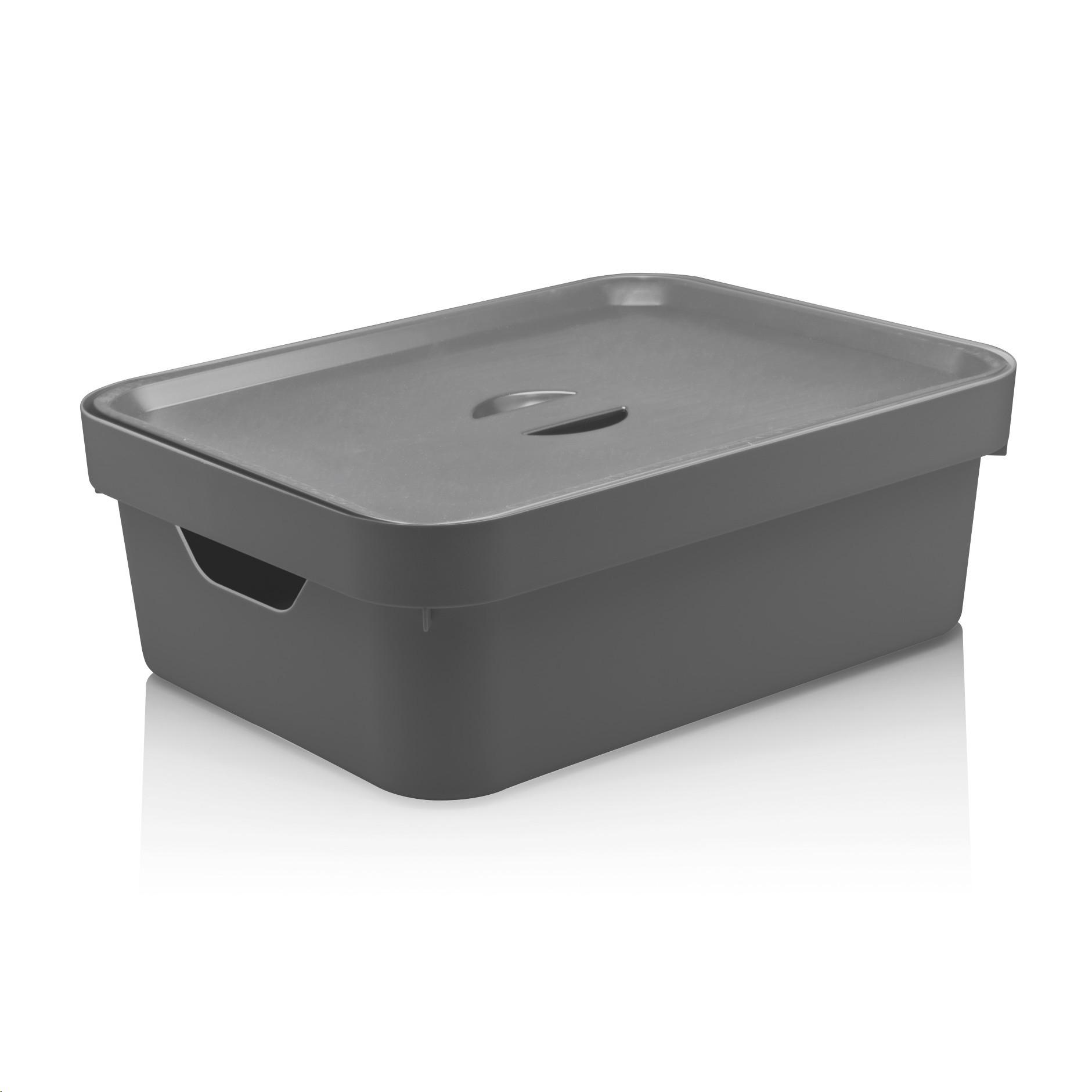 Caixa Organizadora 105L Cube M com Tampa - Ou
