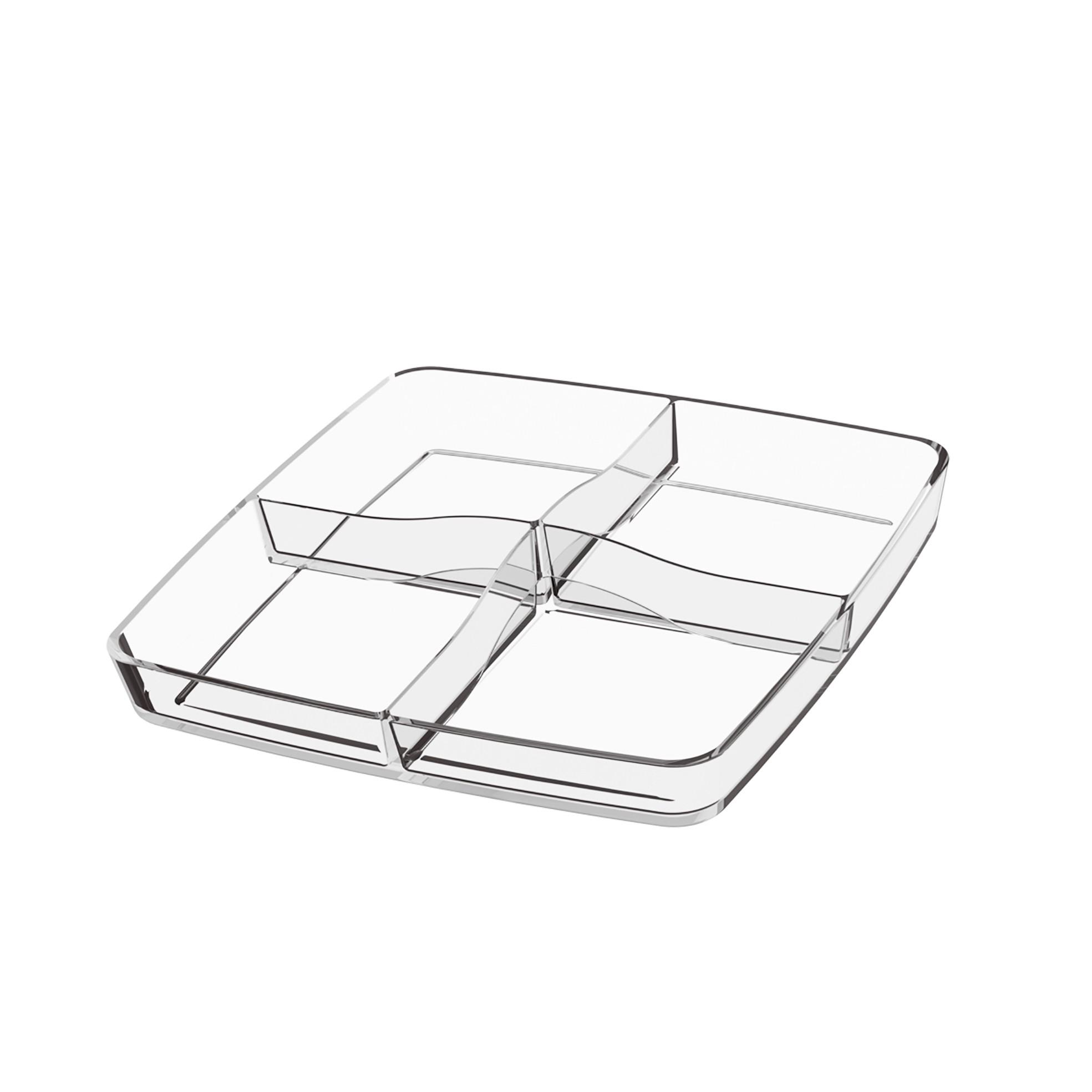 Petisqueira de Plastico Incolor 207060009 - Coza