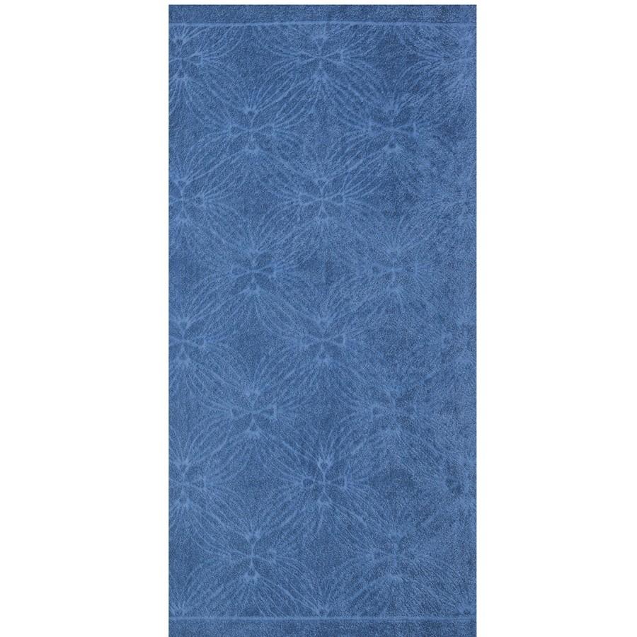 Toalha de Rosto Elegance 100 Algodao Jacquard 50 x 70cm Azul Escuro - Dohler