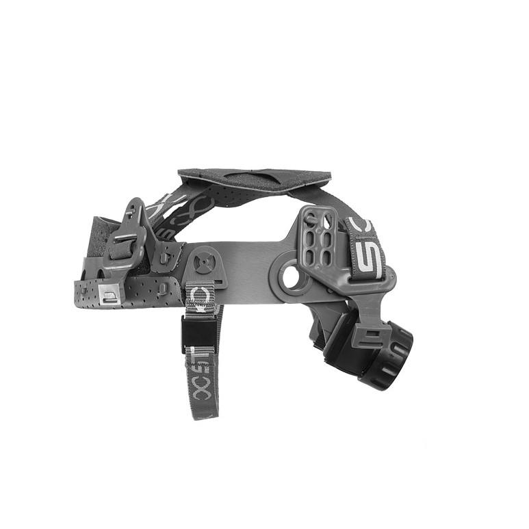 Suspensao para Capacete com Jugular Regulagem Catraca Steel-Lock - Bracol