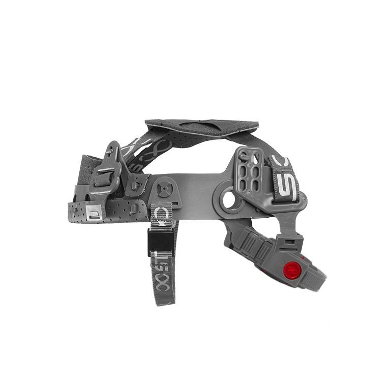 Suspensao para Capacete com Jugular Regulagem com Botao Steel-Click - Bracol